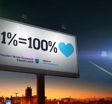 """Kampania informacyjna """"1% podatku"""""""