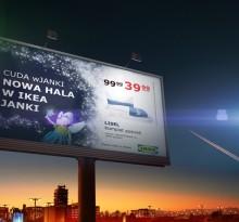 Kampania outdoorowa na bazie materiałów KV IKEA Janki