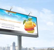 Billboard WSB-NLU w Nowym Sączu