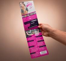 "Ulotka Klubu Fintess dla Kobiet ""ShapeUp Fitness"""